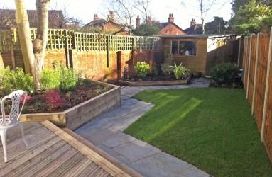 Irregular Garden 1. Rear GardenResidential